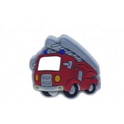 Camion de pompier  perle en silicone