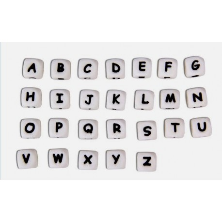 Lettres Alphabet en Silicone