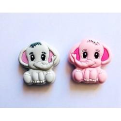 Perle éléphant en silicone