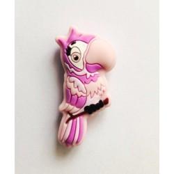 perle perroquet silicone