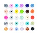 Perle silicone 15mm