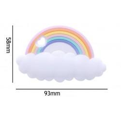 Arc en ciel silicone