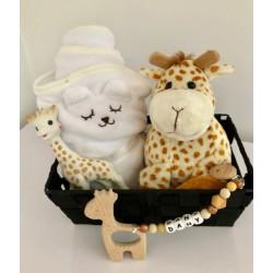 Coffret naissance personnalisable Girafe