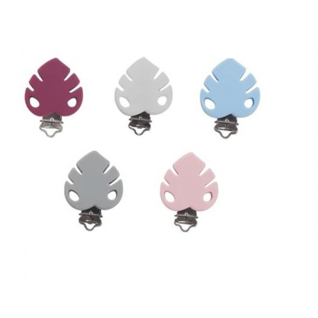 Clip silicone feuille