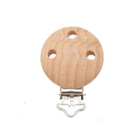 Clip en bois brut