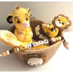 Cadeau naissance thème Lion