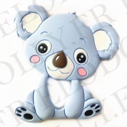 koala silicone bleu