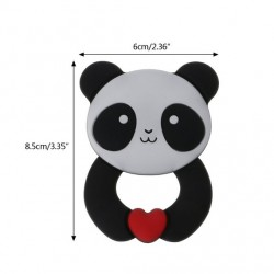 Panda silicone anneau de dentition
